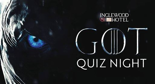 Themed Quiz ~ Game of Thrones! at Inglewood Hotel Perth Australia, Perth