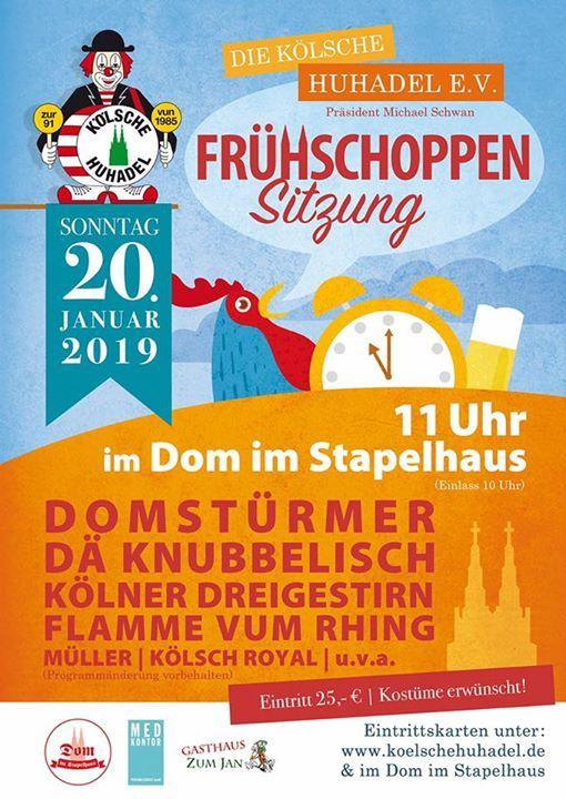 Frhschoppen-Sitzung 2019