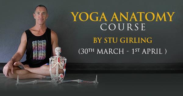 Yoga Anatomy Course with Stuart Girling at 136.1 Yoga Studio, Chennai