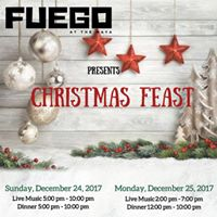 Fuego Offers Four-Course Christmas Eve and Christmas Day Dinners