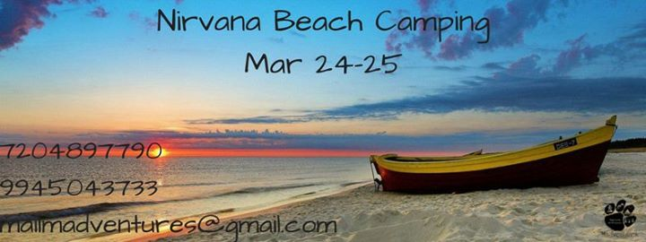 Nirvana Beach Camping Mar 24-25