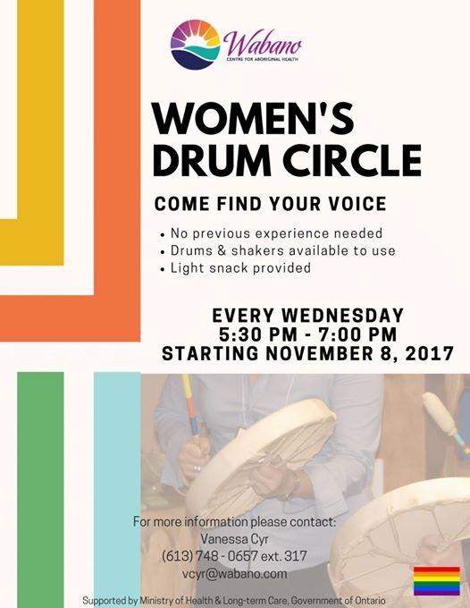 Wabano Womens Drum Circle