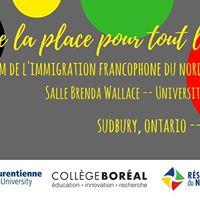 Forum de limmigration francophone du Nord de lOntario