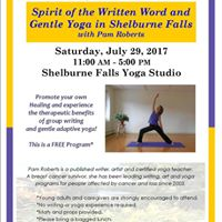 Spirit of the Written Word and Gentle Yoga