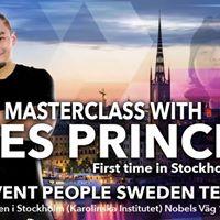 Masterclass Zes Prince Paltu-Ob First time in Stockholm - NY TID