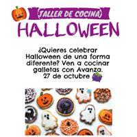 Taller de galletas en halloween