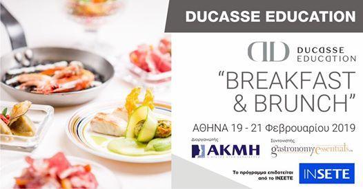 Breakfast & Brunch - Ducasse Education -  19-21219