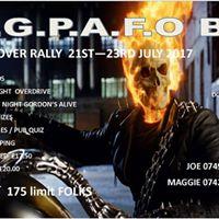 Gordons Alive Rock the Lgpafo Rally