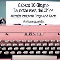 La notte rosa del CHLO