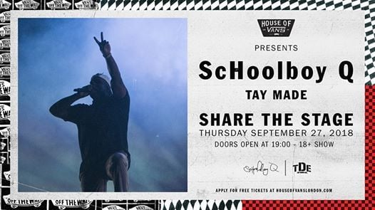 Share The Stage ScHoolboy Q  Tay Made