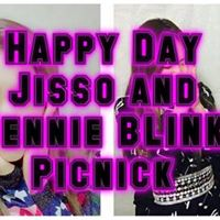 Happy Day Jisso and Jennie BLINK Picnick