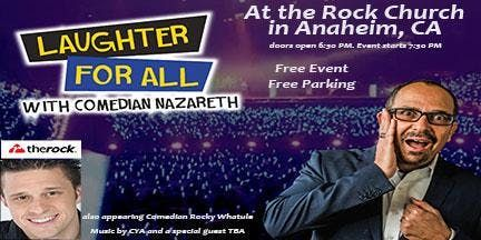 Laughter For All with Comedian Nazareth