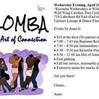 Kizomba Wednesdays in Port Credit