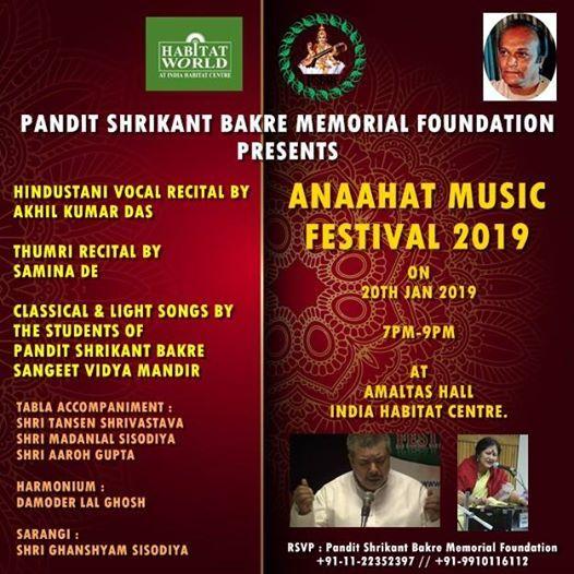 Anaahat Music Festival 2019.