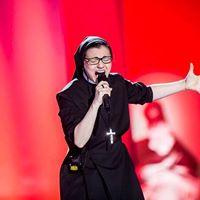 Concert de Soeur Cristina - gagnante de The Voice