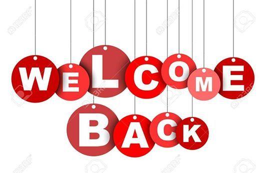Welcome Back Palmer