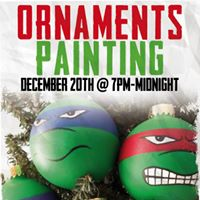 Ornaments Painting December 20th at 7pm