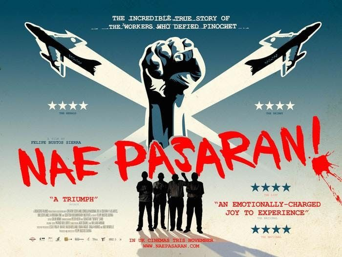 Free Film Showing in Sale 19th February- Nae Pasaran