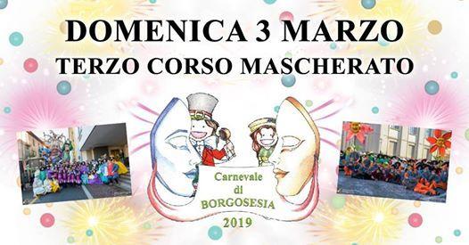 Domenica 3 Marzo - Terzo Corso Mascherato e Premiazioni