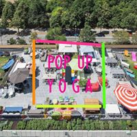 POP UP YOGA meets KARE Kraftwerk Rooftop-Yoga mit Brunch