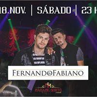 Fernando e Fabiano na Madame Surt