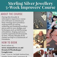 Sterling Silver 5-week Jewellery Course - Improvers