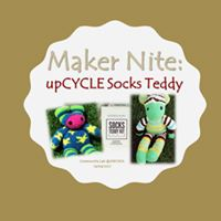 Maker Nite  Upcycle Socks Teddy