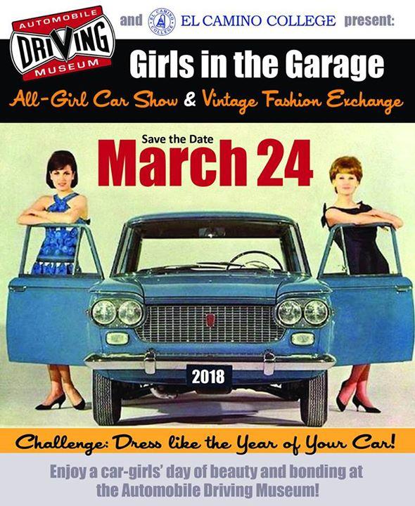 BAIT PopUp At Girls In The Garage Car Show El Segundo - Bait car show