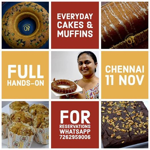 Everyday Cakes & Muffins - Chennai