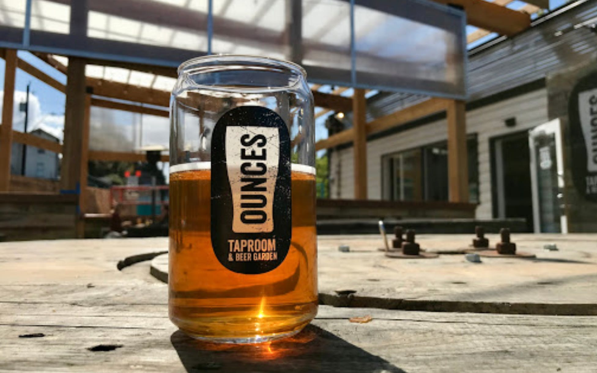 Beer Barre in Ounces Beer Garden (West Seattle) at Ounces Taproom ...
