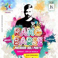Rang Barse Premium Holi Party