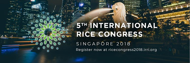 International Rice Congress 2018