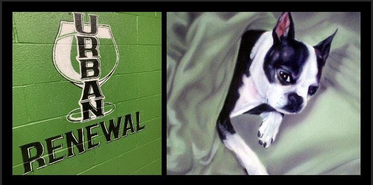 Paint Your Pet at Urban Renewal Brewery