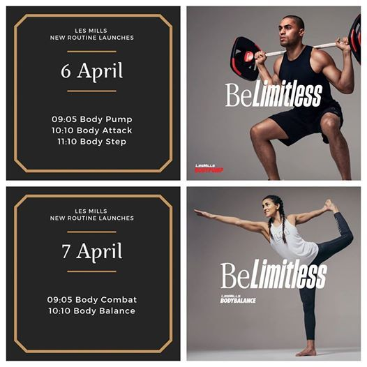 Les Mills new routines Spring launch