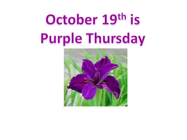 Purple Thursday