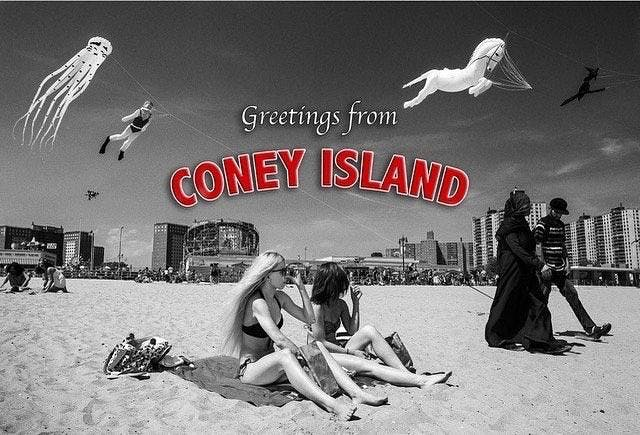 Greetings from coney island a group photography exhibit at charles greetings from coney island a group photography exhibit m4hsunfo