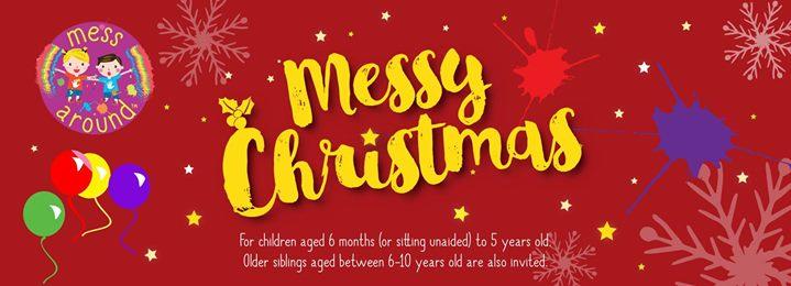 Messy Play Andover (AM) - Messy Christmas