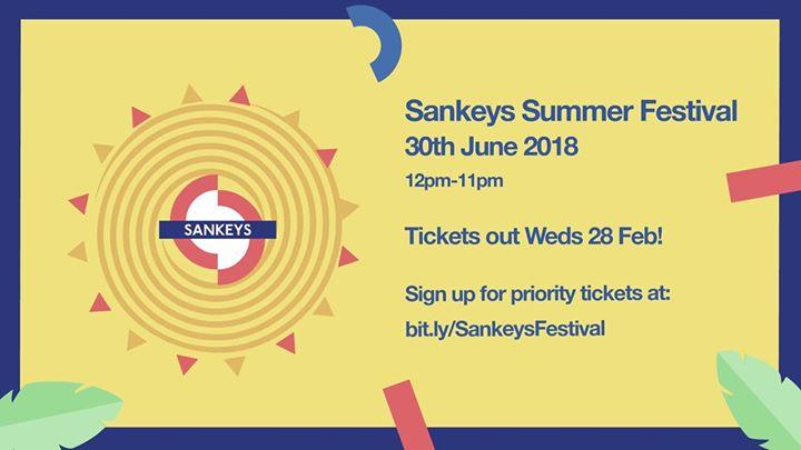 Sankeys - UK Summer Festival