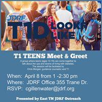 T1D Teens Meet &amp Greet