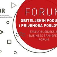 Forum obiteljskih poduzea i prijenosa poslovanja
