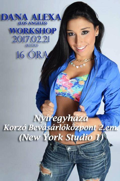 Dana Alexa Workshop Nyregyhza