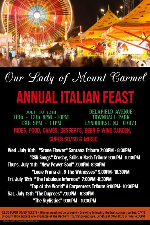 Our Lady of Lourdes School Bull Roast events in the City