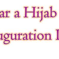 Women Unite Wear a Hijab on Inauguration Day