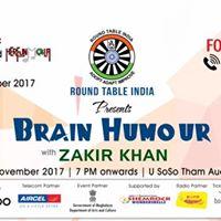 Round Table India Presents Brain Humour with ZAKIR KHAN