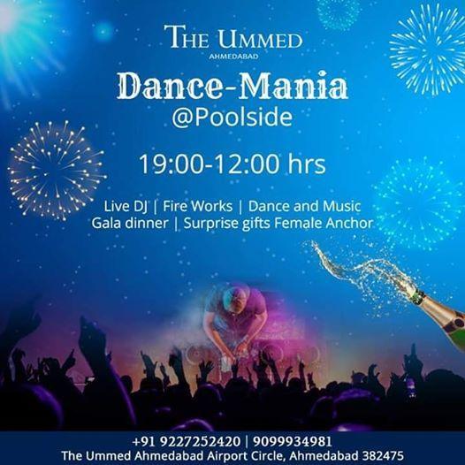 Dance Mania  Pool Side ( The Ummed Ahmedabad)
