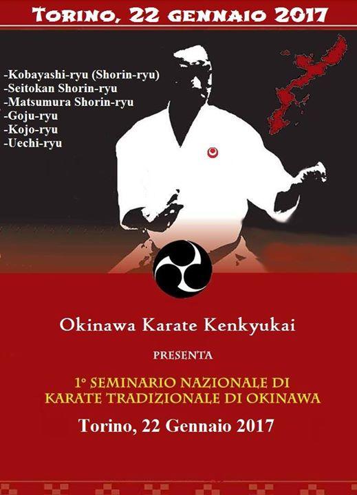 Seminario Nazionale del Karate Tradizionale di Okinawa (parte1)