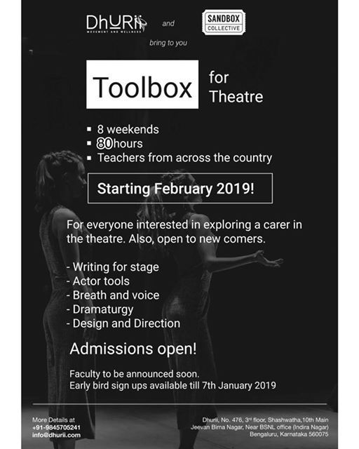 ToolBox for Theatre
