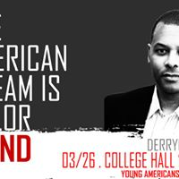 Derryck Green The American Dream is Colorblind