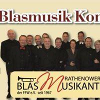 Jubilumskonzert 50 Jahre Rathenower Blasmusikanten