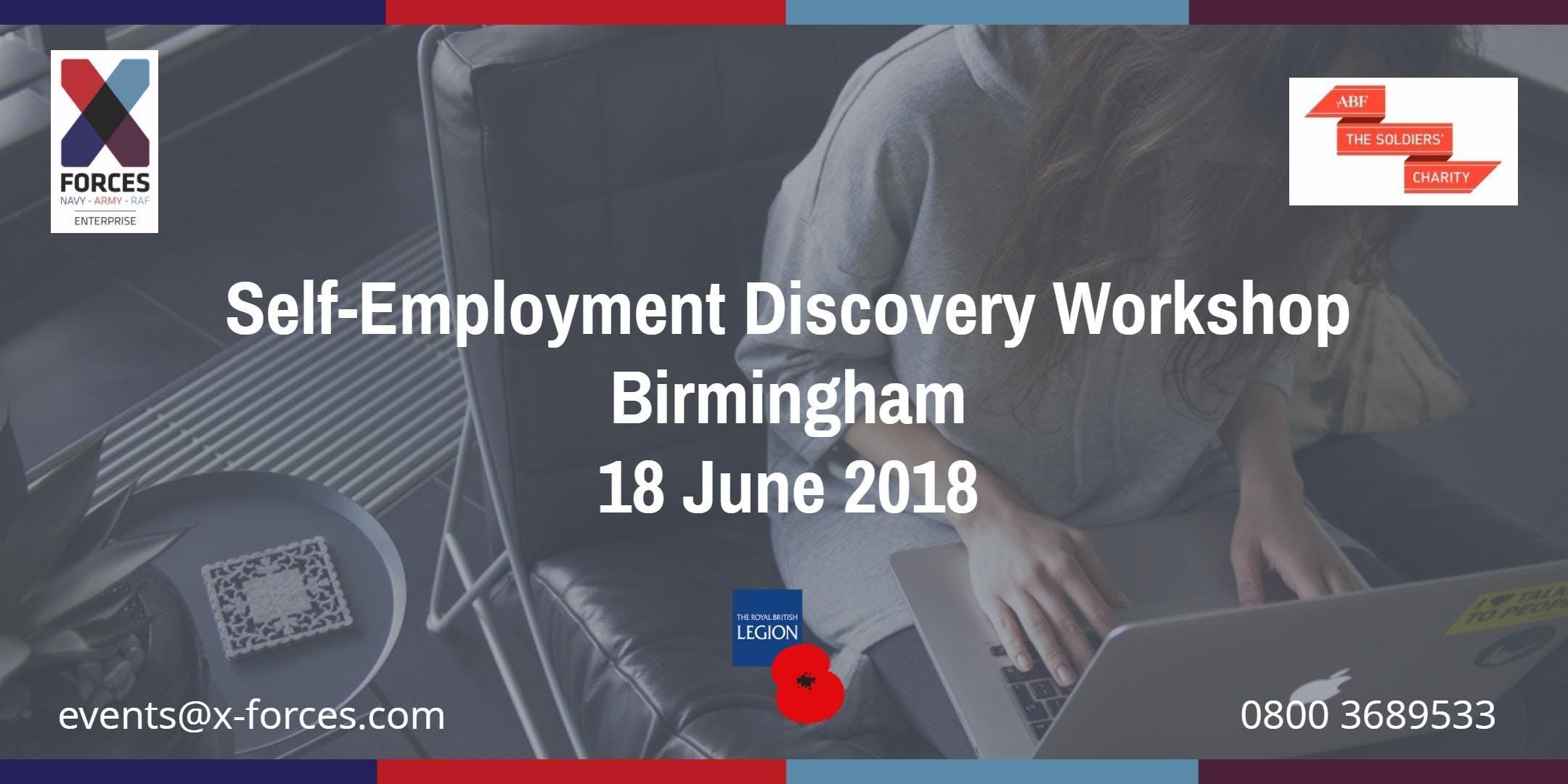 Self Employment Discovery Birmingham